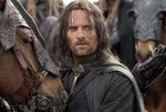 Aragorn with Hasufel