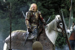King Theoden and Snowmane