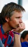Viggo Mortensen in the soccer shirt