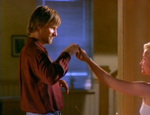Clay invites Callie to dance along with the radio's music. (Viggo Mortensen, Ashley Judd)