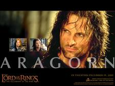 Viggo Mortensen as Aragorn in Fellowship of the Ring