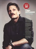 Viggo Mortensen in Entertainment Weekly