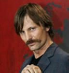 Viggo Mortensen growing his mustache for his role in Alatriste