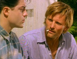 Darkly and Clay never do quite figure each other out ... (Viggo Mortensen, Brendan Fraser)