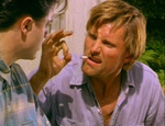 "Clay adds emphasis to his ""ok."" (Viggo Mortensen, Brendan Fraser)"