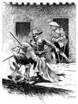 One of the many illustrations at the official El Capitan Alatriste web site.